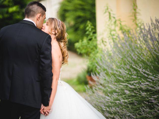 Il matrimonio di Alessandro e Michela a Torre d'Isola, Pavia 1