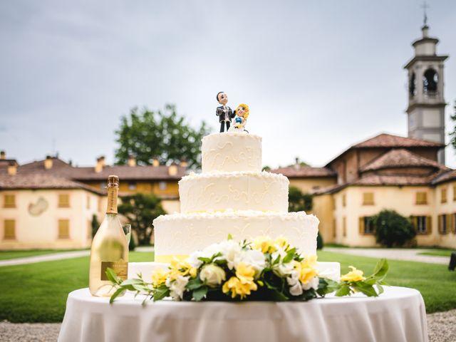 Il matrimonio di Alessandro e Michela a Torre d'Isola, Pavia 89