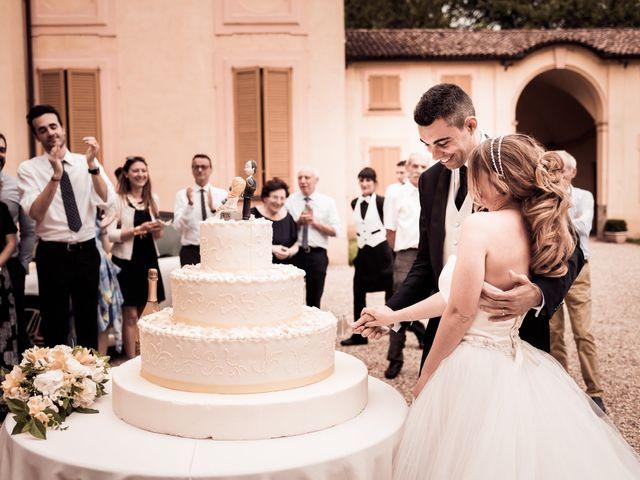 Il matrimonio di Alessandro e Michela a Torre d'Isola, Pavia 90