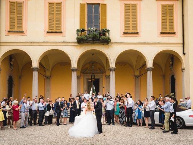 Il matrimonio di Alessandro e Michela a Torre d'Isola, Pavia 91