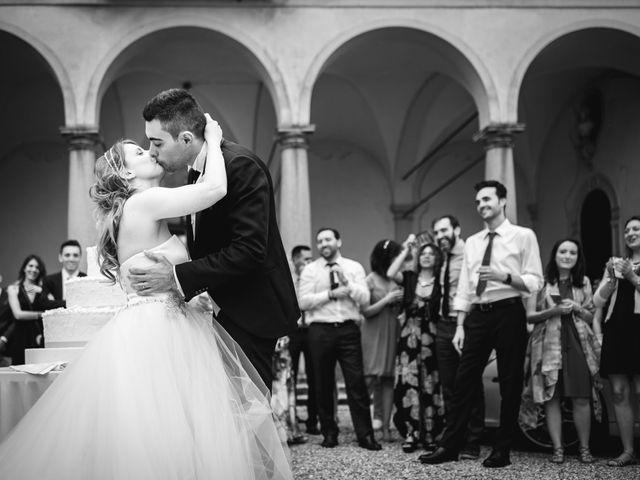 Il matrimonio di Alessandro e Michela a Torre d'Isola, Pavia 92
