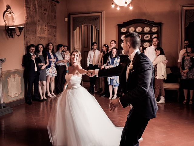 Il matrimonio di Alessandro e Michela a Torre d'Isola, Pavia 99