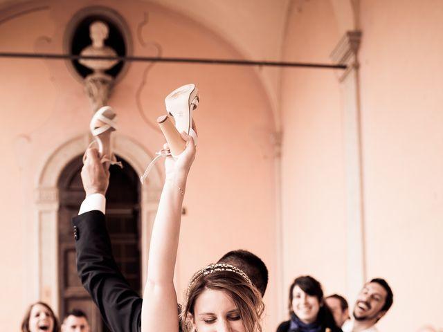 Il matrimonio di Alessandro e Michela a Torre d'Isola, Pavia 103