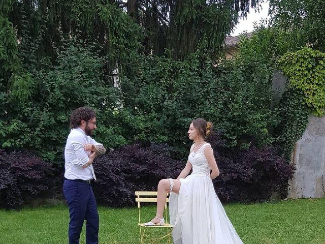 Il matrimonio di Vincenzo  e Samantha  a Certosa di Pavia, Pavia 10