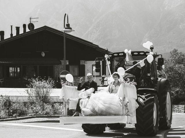 Il matrimonio di Stefano e Hillary a Levico Terme, Trento 9