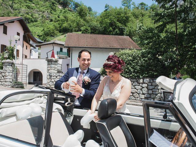 Il matrimonio di Stefano e Hillary a Levico Terme, Trento 17
