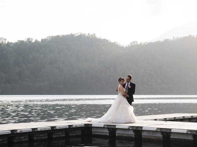 Il matrimonio di Stefano e Hillary a Levico Terme, Trento 33