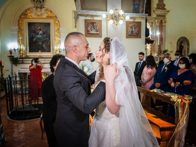 Il matrimonio di Damiano e Ilenia a Roccadaspide, Salerno 22