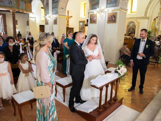 Il matrimonio di Damiano e Ilenia a Roccadaspide, Salerno 23