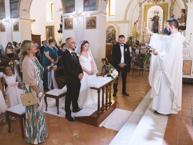 Il matrimonio di Damiano e Ilenia a Roccadaspide, Salerno 24