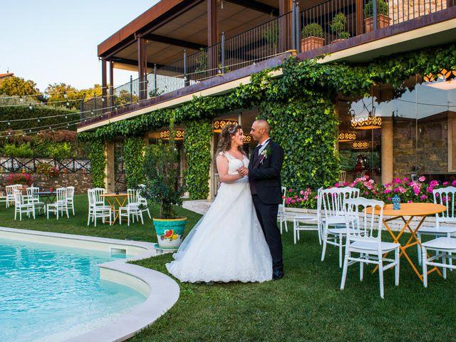 Il matrimonio di Damiano e Ilenia a Roccadaspide, Salerno 31