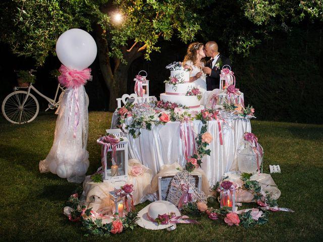Il matrimonio di Damiano e Ilenia a Roccadaspide, Salerno 35