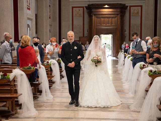 Il matrimonio di Elena e Luca a Brescia, Brescia 110