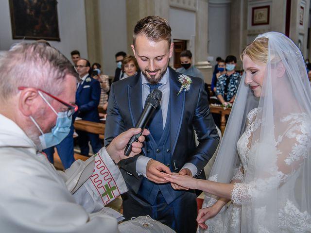 Il matrimonio di Elena e Luca a Brescia, Brescia 112