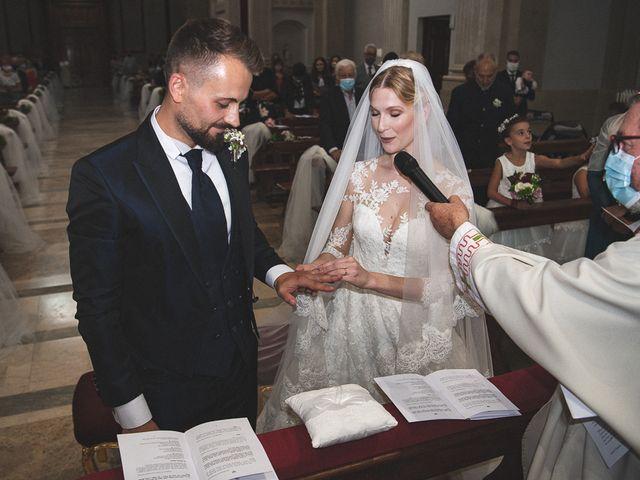 Il matrimonio di Elena e Luca a Brescia, Brescia 114