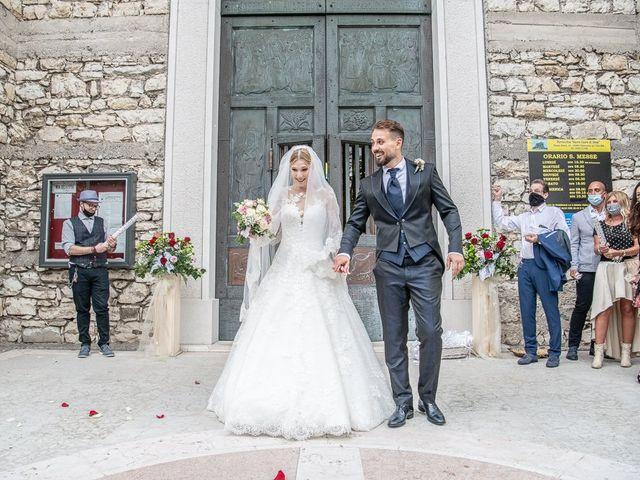 Il matrimonio di Elena e Luca a Brescia, Brescia 137