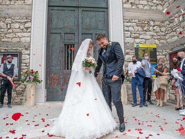 Il matrimonio di Elena e Luca a Brescia, Brescia 138