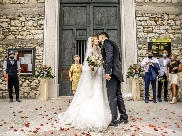 Il matrimonio di Elena e Luca a Brescia, Brescia 139