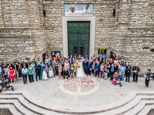Il matrimonio di Elena e Luca a Brescia, Brescia 148