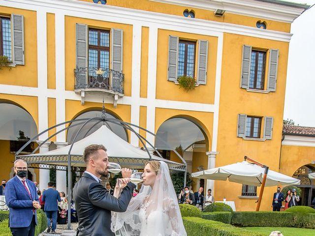 Il matrimonio di Elena e Luca a Brescia, Brescia 153