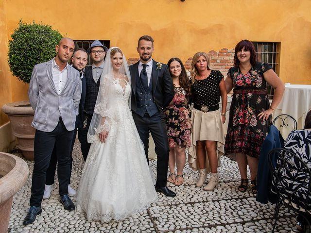 Il matrimonio di Elena e Luca a Brescia, Brescia 157