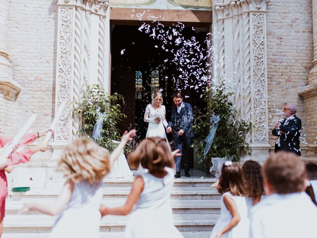 Il matrimonio di Vittoria e Filippo a Torino di Sangro, Chieti 114