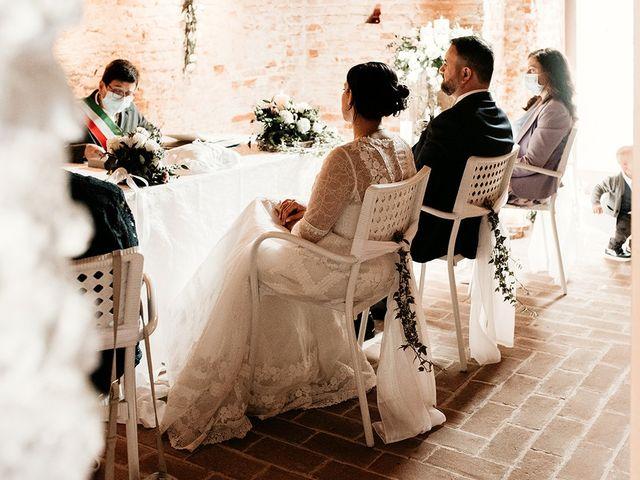 Il matrimonio di Denis e Irene a Noale, Venezia 138