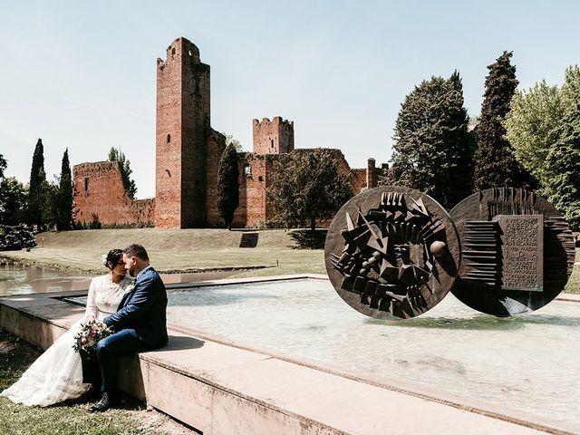 Il matrimonio di Denis e Irene a Noale, Venezia 212