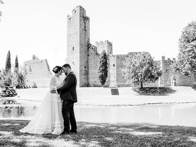 Il matrimonio di Denis e Irene a Noale, Venezia 214