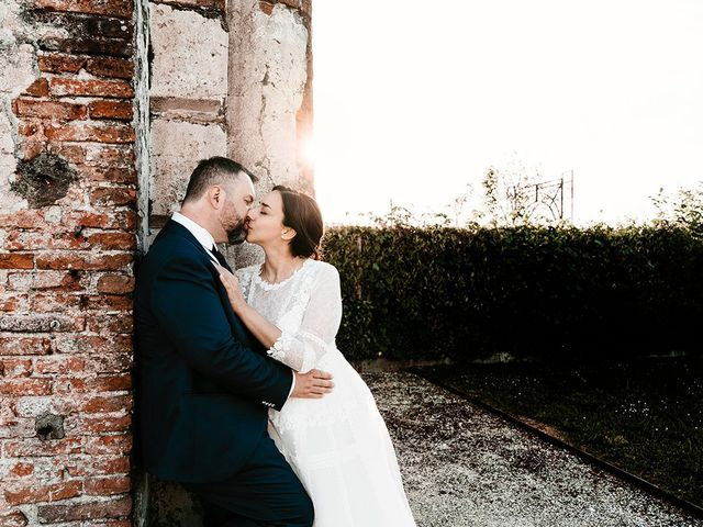 Il matrimonio di Denis e Irene a Noale, Venezia 329