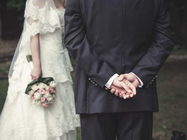 Il matrimonio di Yan e Chunhui a Serra San Quirico, Ancona 1