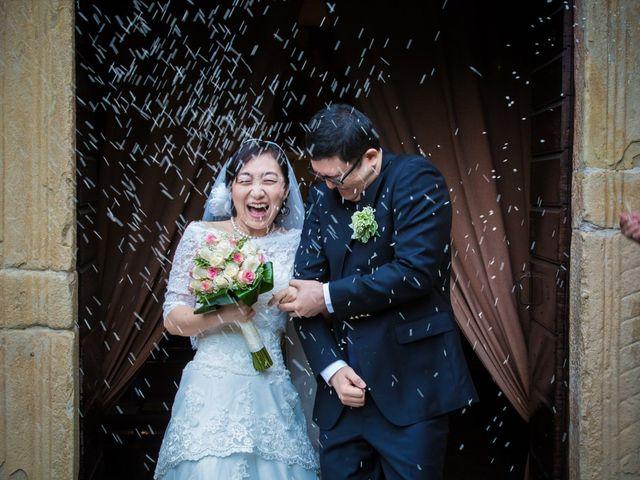 Il matrimonio di Yan e Chunhui a Serra San Quirico, Ancona 3