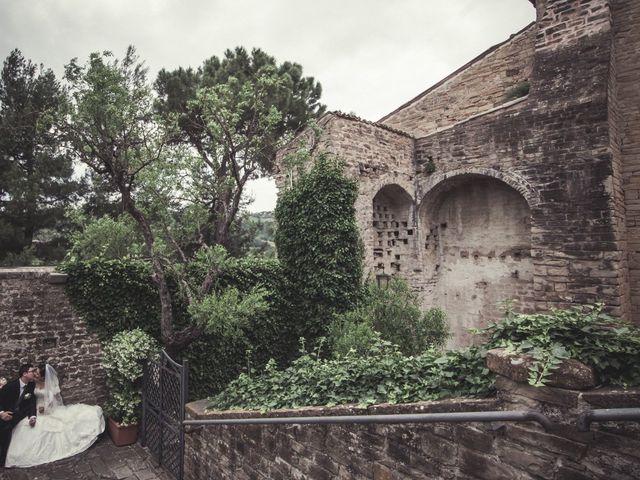 Il matrimonio di Yan e Chunhui a Serra San Quirico, Ancona 6