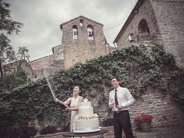 Il matrimonio di Yan e Chunhui a Serra San Quirico, Ancona 10