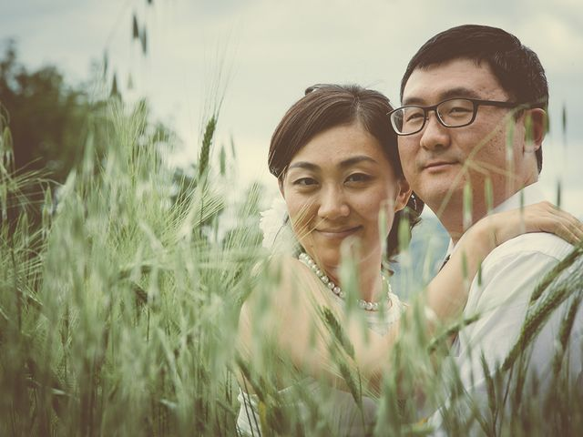 Il matrimonio di Yan e Chunhui a Serra San Quirico, Ancona 11