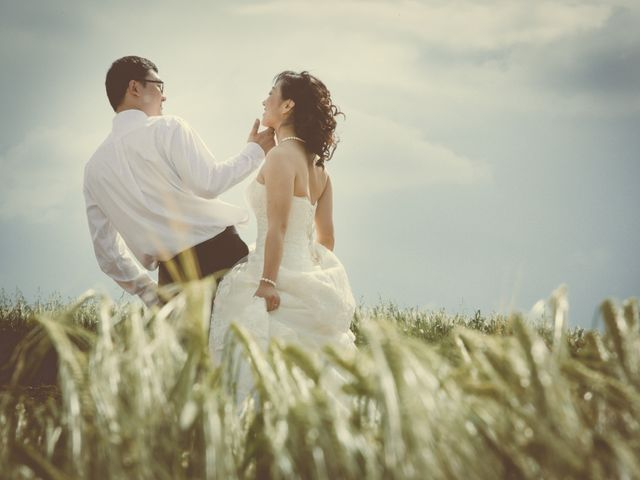 Il matrimonio di Yan e Chunhui a Serra San Quirico, Ancona 15