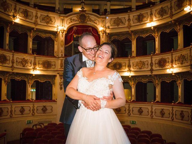Il matrimonio di Mattia e Alexia a Busseto, Parma 38