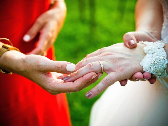 Il matrimonio di Mattia e Alexia a Busseto, Parma 43