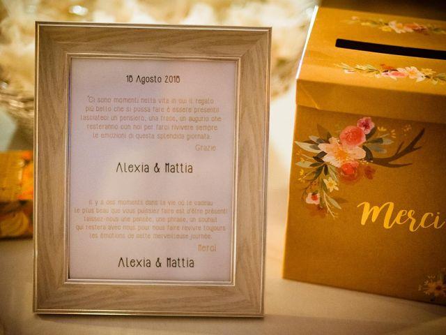 Il matrimonio di Mattia e Alexia a Busseto, Parma 56