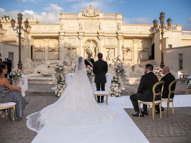 Il matrimonio di Jlenia e Carlo Valerio a Roma, Roma 15