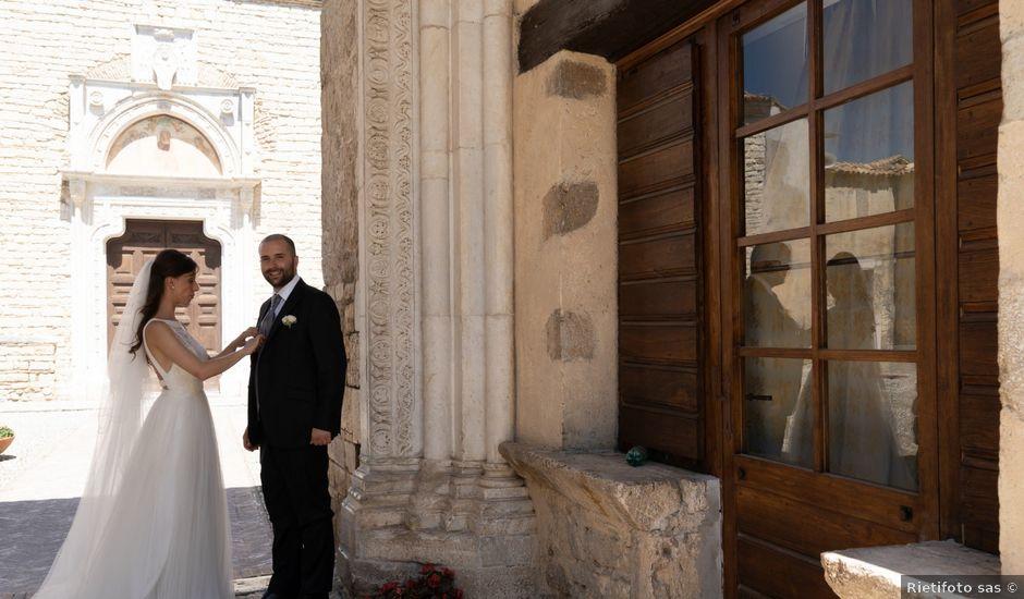 Il matrimonio di Edemondo e Lucija a Castelnuovo di Farfa, Rieti
