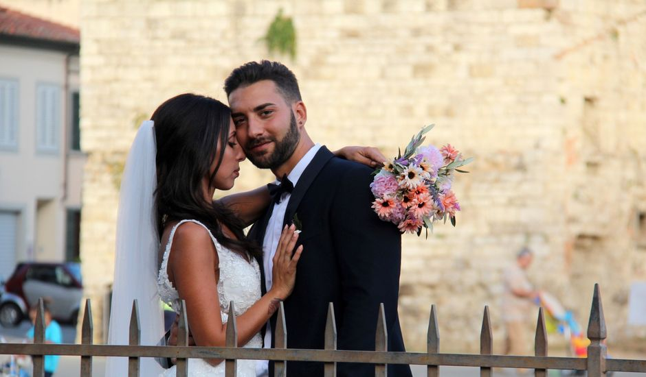 Il matrimonio di Simone e Lara a Prato, Prato