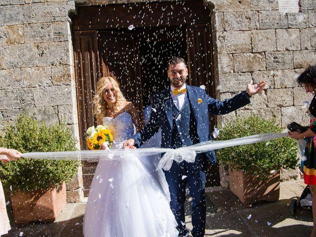 Il matrimonio di Valerio e Francesca a Scansano, Grosseto 11