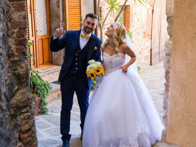 Il matrimonio di Valerio e Francesca a Scansano, Grosseto 12