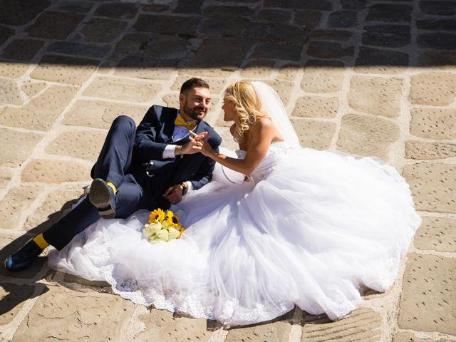 Il matrimonio di Valerio e Francesca a Scansano, Grosseto 13