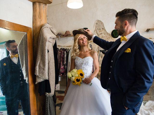 Il matrimonio di Valerio e Francesca a Scansano, Grosseto 16