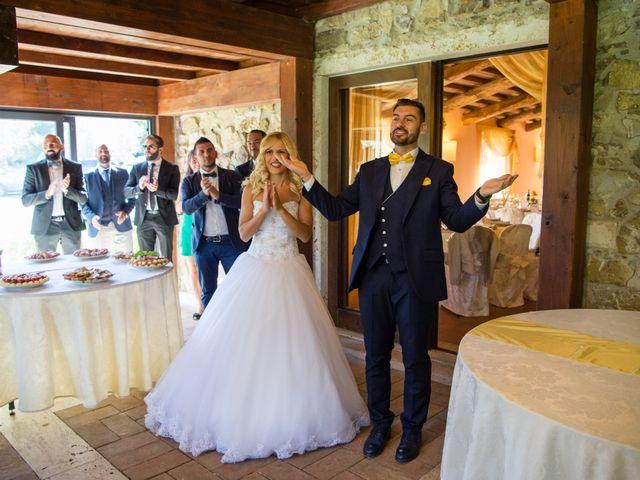 Il matrimonio di Valerio e Francesca a Scansano, Grosseto 18