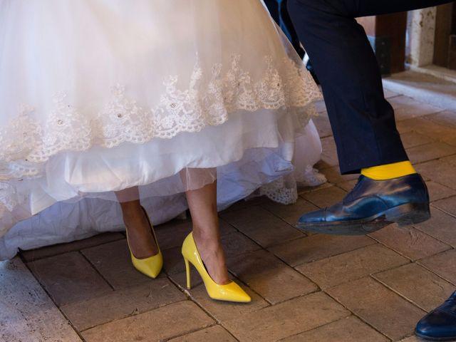 Il matrimonio di Valerio e Francesca a Scansano, Grosseto 19