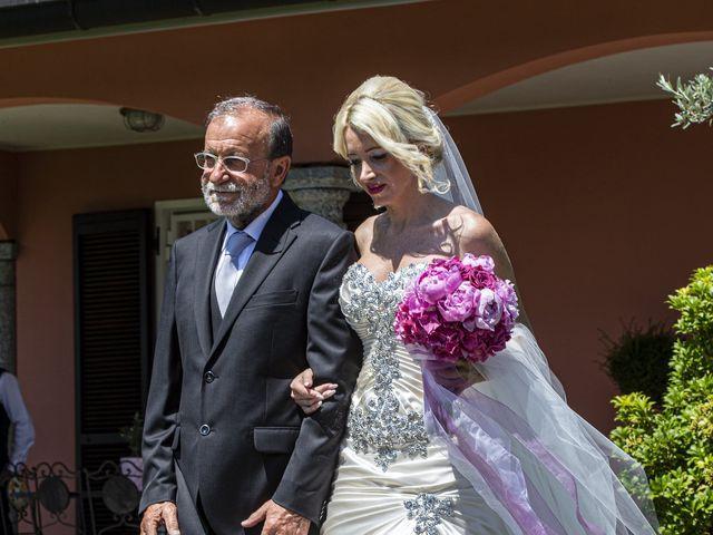 Il matrimonio di Tony e Soraya a Fenegrò, Como 31