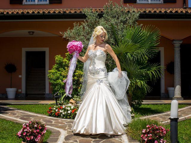 Il matrimonio di Tony e Soraya a Fenegrò, Como 34